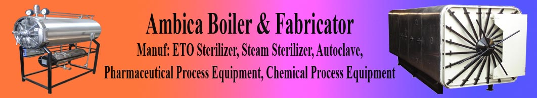 Manufacturer of Eto Sterilizer, Ethylene oxide gas sterilizer, steam sterilizer, verticle sliding door steam sterilizer, table top autoclave,Gujarat, India